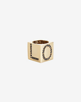 Kelly Wearstler Romare Crystal Love Ring