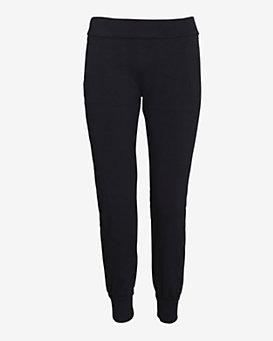 SWEATS by Norma Kamali Sweatpants: Black