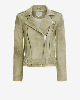 IRO Jova Distressed Leather Jacket