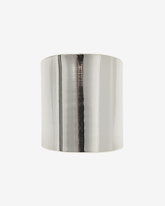 Lisa Freede Cuban Ring: Silver