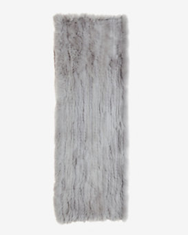 Jocelyn Long Infinity Fur Scarf