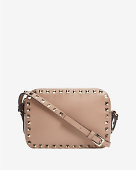 Valentino Rockstud Camera Bag: Khaki