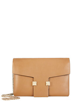 Valentino Small Flap Shoulderbag: Brown