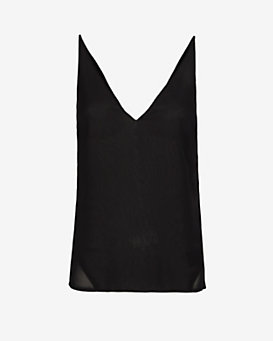 J Brand Ready-to-Wear Lucy Sheer Back Cami