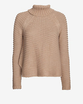 mason by michelle mason Baseball Hem Turtleneck