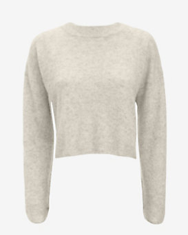 mason by michelle mason EXCLUSIVE Cropped Cross Back Sweater