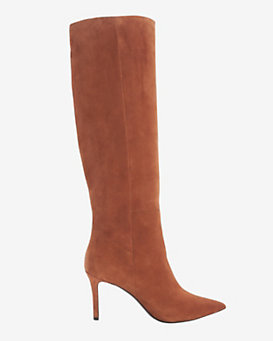 Barbara Bui Pointy Toe Suede Boot