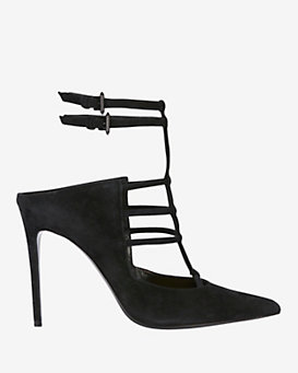 Barbara Bui Pointy Toe Ankle Strap Pump