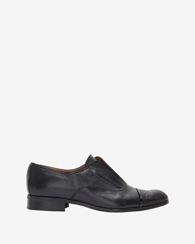 Exclusive For Intermix Lizard Toe Detail Brogues