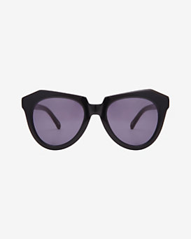 Karen Walker Oversized Angled Frame Sunglasses