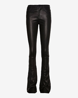 J Brand Remy Leather Boot Cut: Black