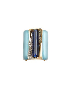 Alexis Bittar Cabochon Ombre Stripe Ring