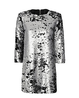 Elizabeth and James Danya Sequin Dress