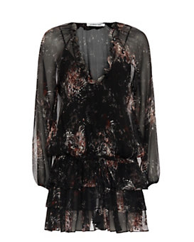 Elizabeth and James Beatriza Print Dress