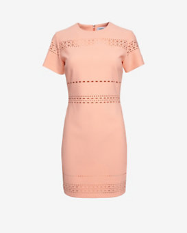 Elizabeth and James Laser Cut Dress