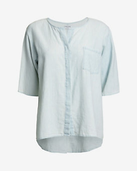 Frame Short-Sleeve Button-Down Shirt