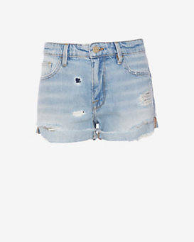FRAME Le Grand Garcon Short: Avenue