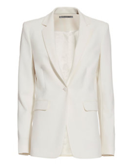 Elizabeth and James Jolie Stretch Blazer: Ivory