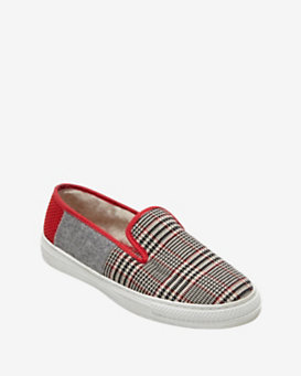 Taise by Souts Plaid Slip-On Sneaker