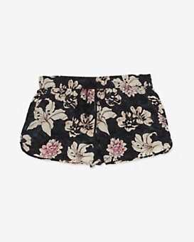 Elizabeth and James Floral Print Silk Shorts