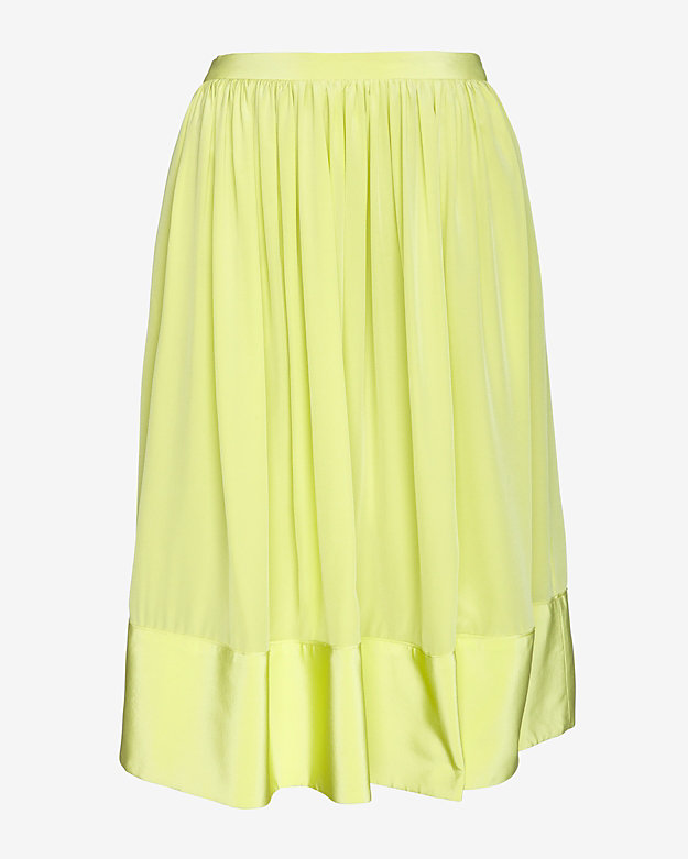 Elizabeth and James Avenue Pleated Knee Skirt