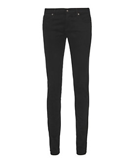 AG Super Skinny Black Satine