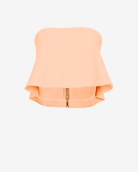 Elizabeth and James Addilyn Strapless Top