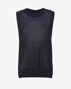 FRAME Muscle Tank Sweater
