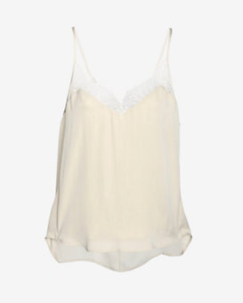 mason by michelle mason Lace Trim Halter Cami