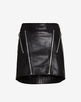 mason by michelle mason Zippered Mini Skirt