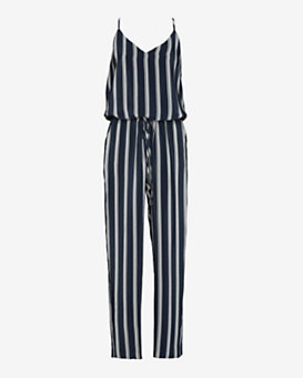 mason by michelle mason EXCLUSIVE Striped Halter Jumper