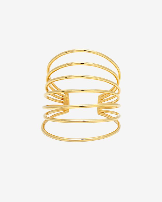 Philippe Audibert Gold Wire Cuff