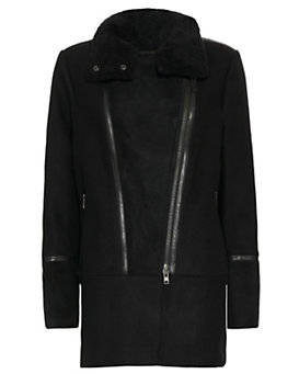Mackage Mallory Wool Coat With Puffer Back