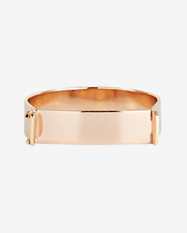Miansai Hudson Cuff Bangle: Rosegold