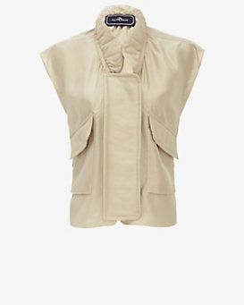 By Malene Birger Silk Cargo Vest