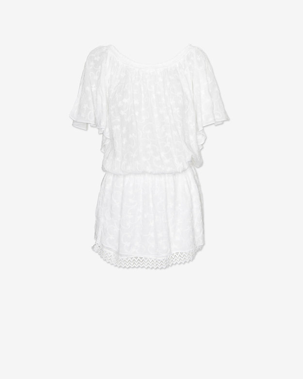Melissa Odabash Off The Shoulder Cover Up Dress