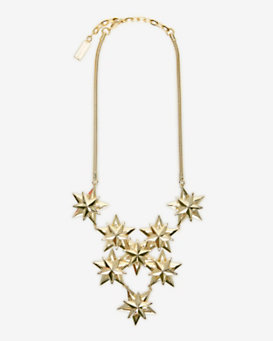 AUDEN EXCLUSIVE Star Cluster Bib Necklace