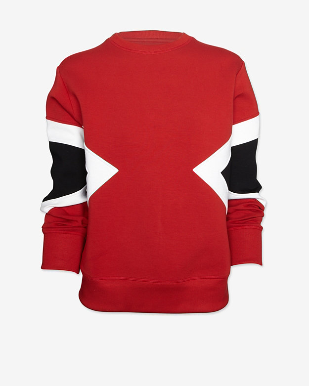 Neil Barrett EXCLUSIVE Colorblock Inset Sweatshirt