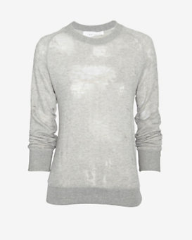 IRO Deconstructed Sweatshirt: Grey