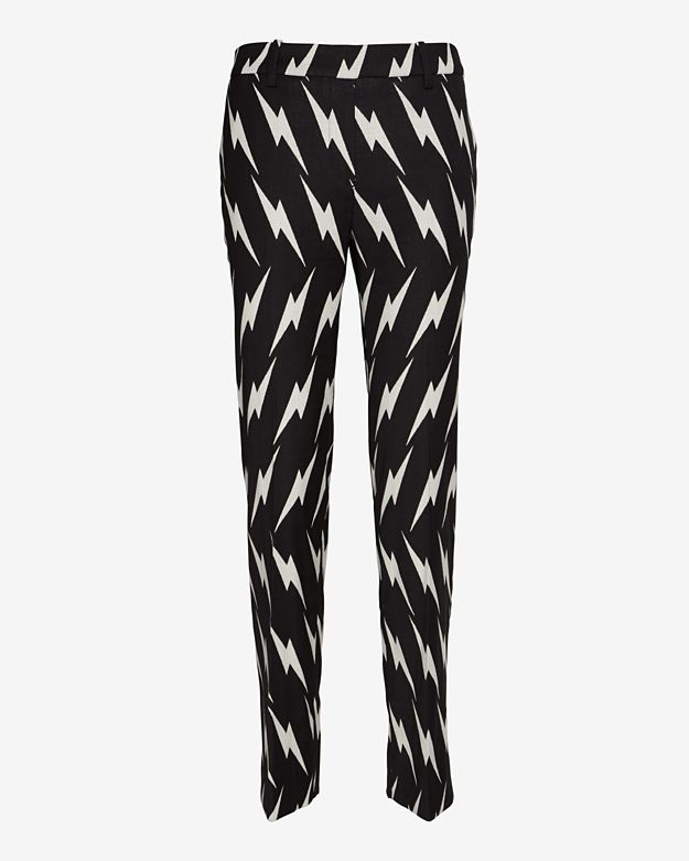Neil Barrett Lightning Bolt Print Trouser