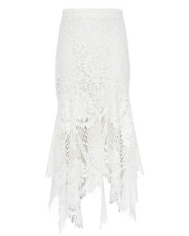 LOVER EXCLUSIVE Layered Lace Halo Skirt