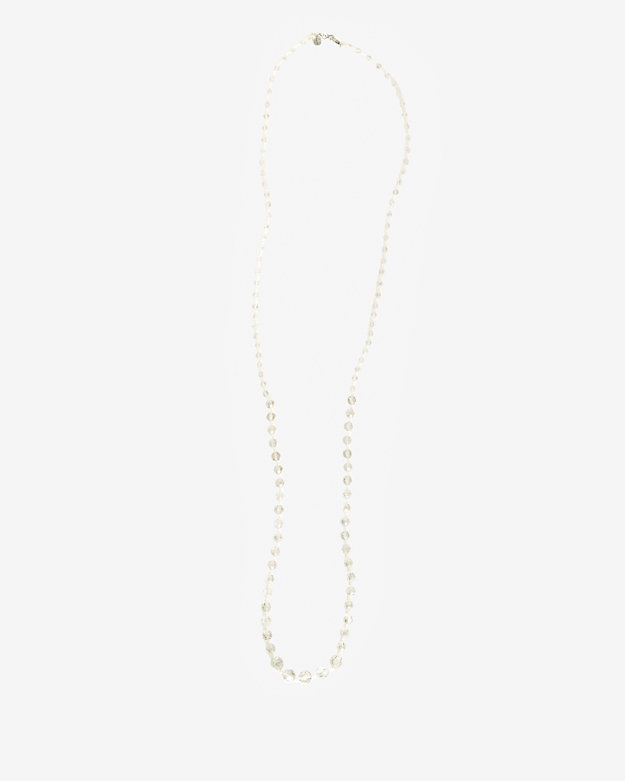 Chan Luu Beaded Rope Necklace: White