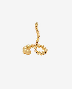 Paula Mendoza Adriane Single Beaded Coil Ring