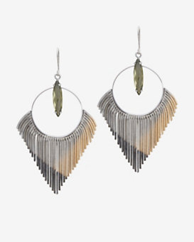 Iosselliani Fringe Earrings