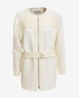 IRO Omaya Frayed Self Belt Jacket