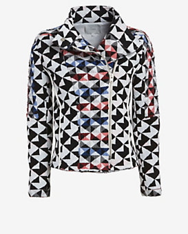 IRO Otavia Diamond Patchwork Jacket