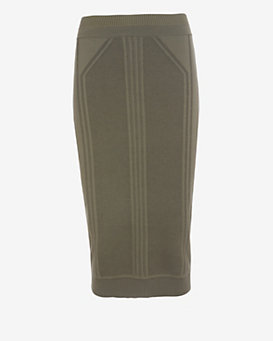 Ohne Titel Pointelle Knit Pencil Skirt