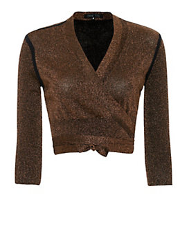 Ohne Titel Metallic Shrug Wrap