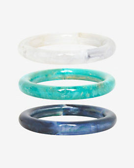 Pono Marbled Resin Bangles