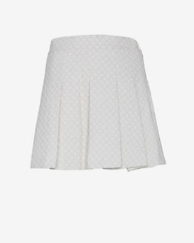 10 Crosby Derek Lam Box Quilt Pleated Skirt
